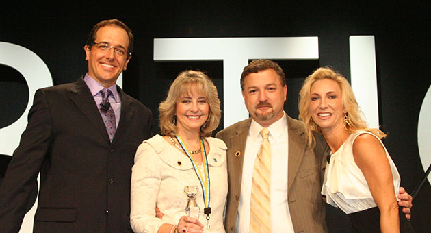 2009-2010 Ambit Choice Winners, Chris & Debbie Atkinson