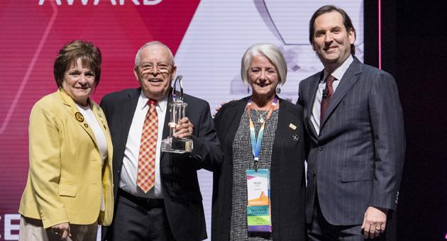 2017 Ronny Kirkland Perseverance Award Winner, Patrick Flander
