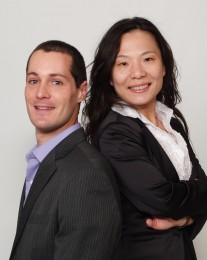 Wenqing and Aurelien Bouche-Pillon  Headshot