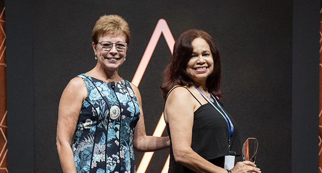 2018 Ambit Cares Achievement Award Winner, Diana Cepeda