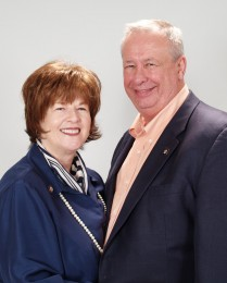 Ginger Chachere & Robert Meyer Headshot