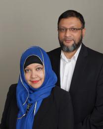 Wasim and Farkhanda Zaman Headshot